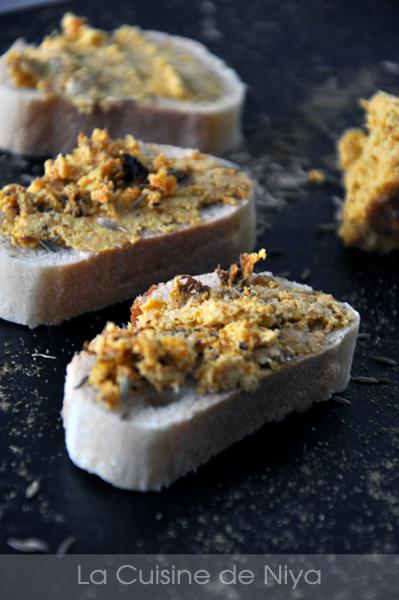 La Cuisine de Niya - Terrine de Carottes au sésame et miso blanc