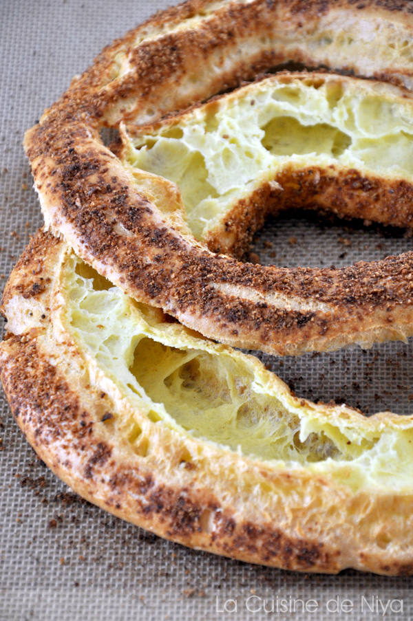 La Cuisine de Niya - Paris-Brest - pâte à chou découpée