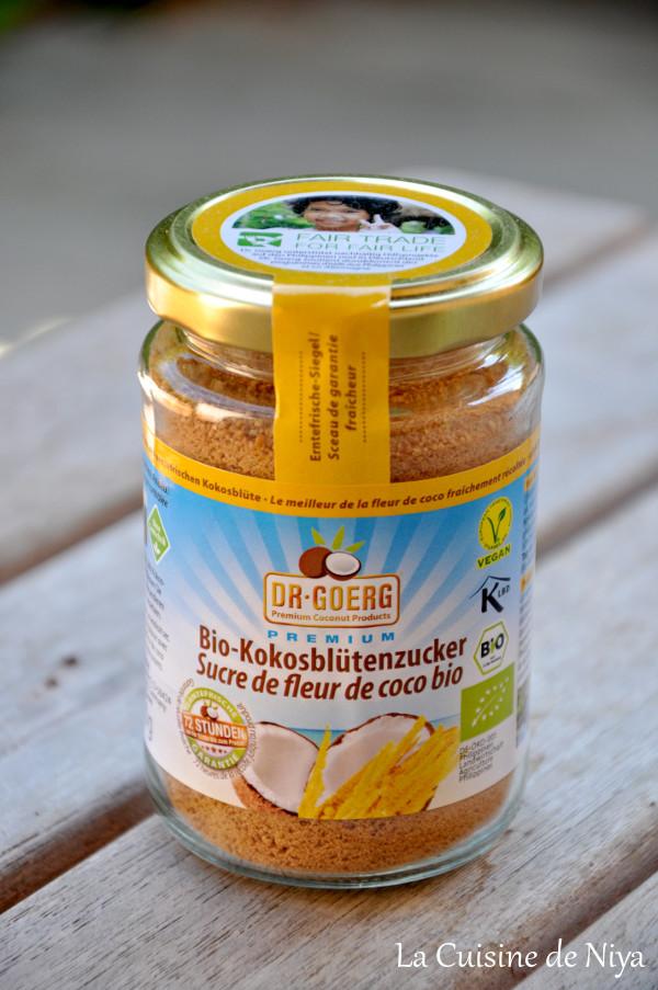 La Cuisine de Niya - Partenariat - Keimling - Sucre de fleur de coco