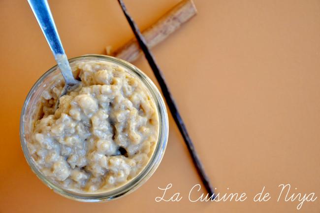 La Cuisine de Niya - Riz au lait épicé - vegan