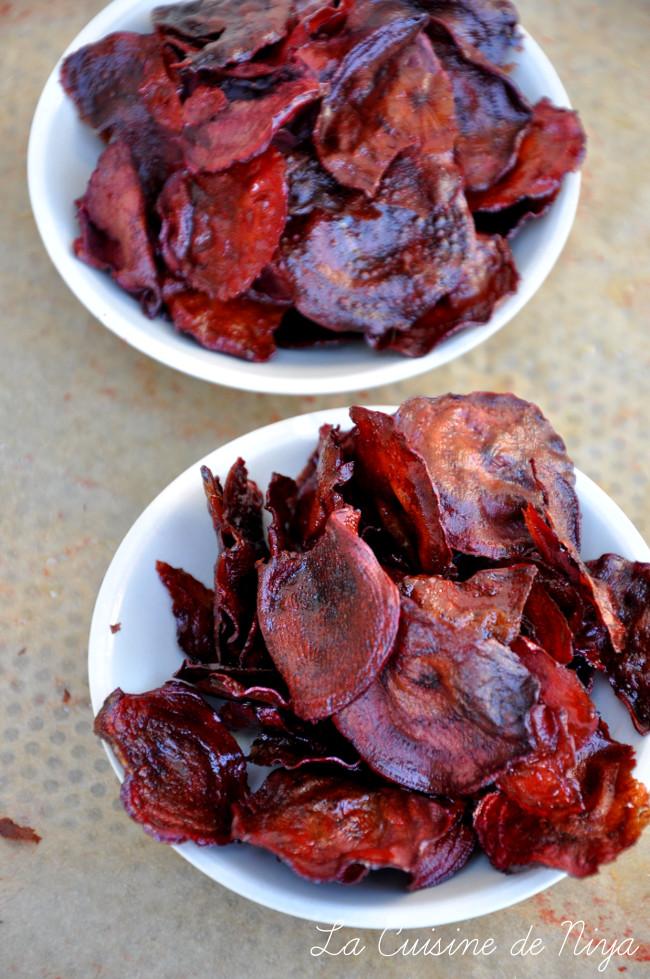 La Cuisine de Niya - Chips de betterave nouvelle
