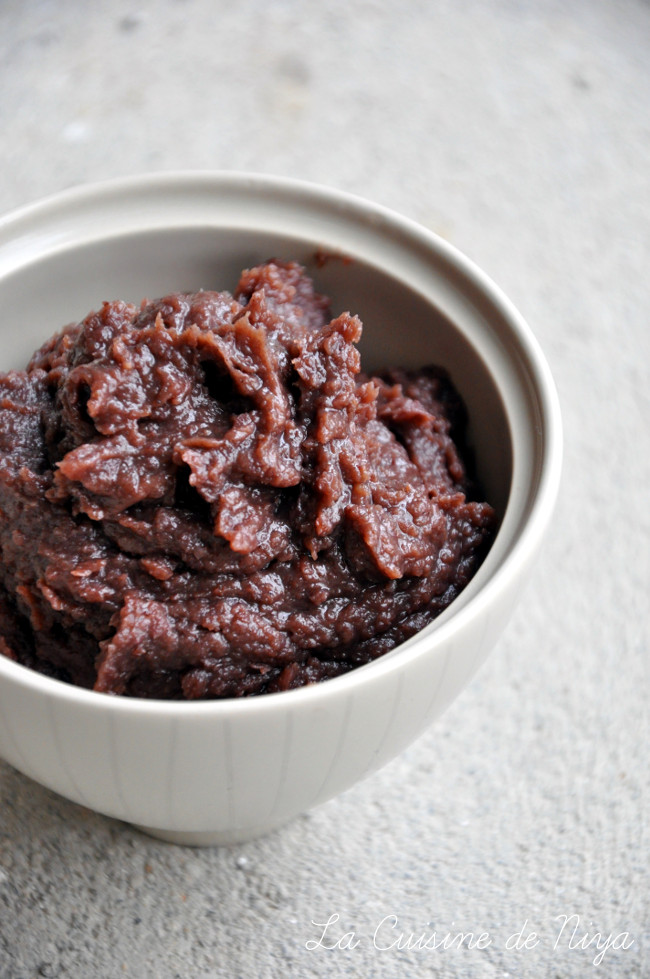 La Cuisine de Niya - Pâte de Haricots Rouges Azukis Sucrée
