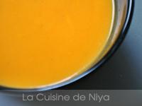 Soupe de potiron au lait de coco [vegan]