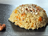Risotto à la patate douce [vegan]