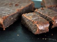 Gâteau fondant au chocolat et crème de marrons