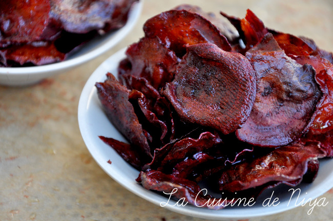 Chips de betterave nouvelle [vegan]